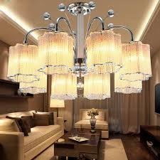 semi flush ceiling lights with 8 light for living room