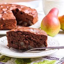 saftiger low carb kaffee birnen kuchen rezept ohne zucker