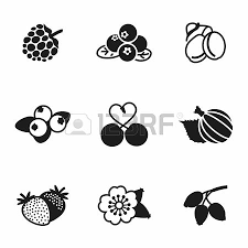 Fruit punch juice box clipart black and white