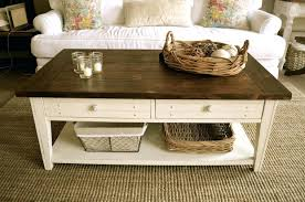 Rustic Style Coffee Table Back To Original Contemporary French