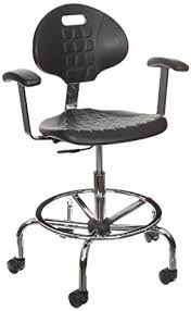 Office Chair 300 Lb Capacity by Benchpro Lct Uc Aa Deluxe Polyurethane Cleanroom Lab Chair