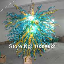 Free Shipping Antique Modern Foyer Blown Glass Chandelier For Sale