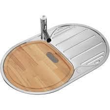 planche cuisine poli évier de cuisine en acier avec unité égouttoir évier rond