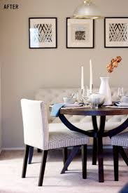4 Interior Design Hacks To Transform Your Apartment Fast NOTE In A Small Space Dining Table Bench