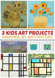 3 Awesome Kids Art Projects Inspired By History