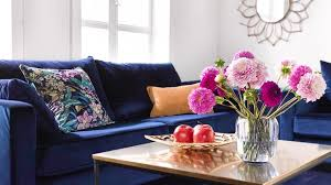 guido kretschmer home living leinwandbild viola flower gerahmt keilrahmen kaufen otto