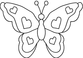 Butterfly Coloring Pages Free