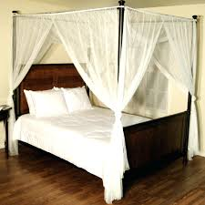 beds canopy bed curtains walmart queen size blackout target