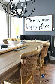 Pier 1 Dining Room Table Large Farmhouse Wood Sign With Quote Steel Wool