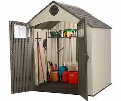 Rubbermaid Roughneck Gable Storage Shed 7x7 by Unique Lifetime 7x4 5 Storage Shed 67 With Additional Rubbermaid