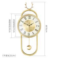 große goldene luxus kreative moderne design wanduhr