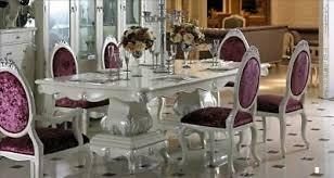 esstisch 8 stühle stuhl esszimmer garnitur barock rokoko