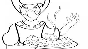 The Queen Of Hearts Nursery Rhyme Thenurseries Coloring Page
