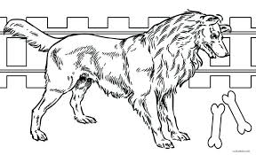 Realistic Dog Coloring Pages Husky Colouring