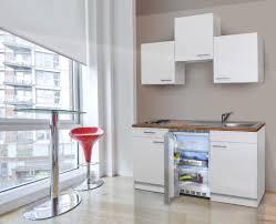 respekta küche miniküche singleküche küchenzeile einbau küchenblock 150 cm weiß