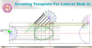 Creating Template For Pipe Lateral Stub In
