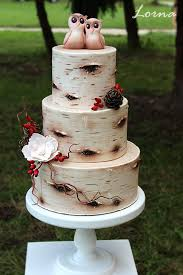 Birch Tree Wedding Cake By Lorna