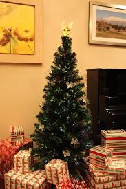 7ft Fibre Optic Christmas Tree Ebay by 6 Ft Pre Lit Multi Color Led Fiber Optic Christmas Tree Ebay