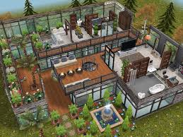 Sims Freeplay Second Floor by House 58 Level 2 Sims Simsfreeplay Simshousedesign Sims