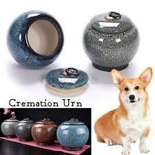 details zu 12 5x11 5cm tierurnen keramik urne haustierurnen tiersarg feuerbestattungsurne