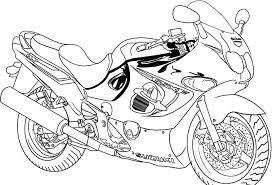 Printable Bike Safety Coloring Pages Pictures Bikes Free Template Racing Helmet Full Size