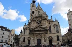 église étienne du mont de picture of eglise