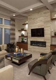 Contemporary Linear Electric Fireplace