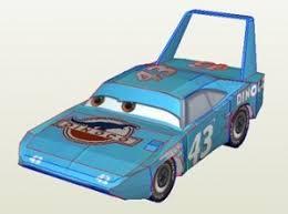 Disney Pixar Cars The King Papercraft
