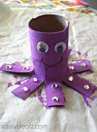 Most Popular Teaching Resources Octopus Toilet Paper Roll Craft For Kids