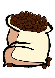 Coffee Bean Bag Clipart