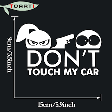 15*9CM Don'T Touch My Car Vinyl Decal Stickers Truck Window Door ... Amazoncom Get Off My Ass Before I Inflate Your Airbags 8 X 2 7 Cute Buck Decal Stickers Gun Bow Hunting Deer Truck Window Car H1059 Pro God Life Sticker Automotive 2018 Coexist Peace Religion Notebook Cars Trucks Product Ford F150 Xtr 4x4 Off Road Truck Vinyl Gmc Motsports Windshield Topper Window Decal Sticker 5 Best For In Xl Race Parts Baby On Board Decals Darth Vader Star Carstyling Snail Turbo Jdm Laptop Boost Mandala Auto Cricket Ball Bat Cricketer Sports Chevy Avalanche Vehicle Decalsticker 4 40