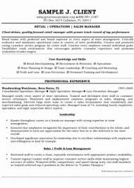 Executive Retail Manager Resume Examples 2015 45 Luxury Stock Of Sample 2014