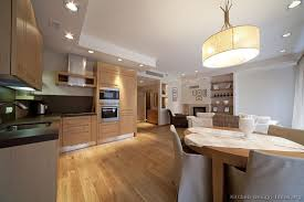 Modern Light Wood Kitchen Cabinets & Design Ideas