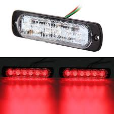 2x 6 LED Car Truck Emergency Beacon Warning Hazard Flash Strobe ... Light Bars Auto Accsories The Home Depot 4 Led Strobe Lights Car Truck Emergency Flash Waterproof Led For Trucks Best Of 1w Solar Powered 24 7 6 Beacon Medium Rectangular High Power Elite Ford Offers 700 Msrp Factory On Every 2016 Fseries 2pcs Quality Strobe Surface Mount Amber Visor Warning 20 Photo New Cars And Installed 2015 Silverado Hd Or 2014 1500 Xyivyg Red 54 Hazard Vehicle Police Grill Trucklite Super 60 Integral Kit 60120y