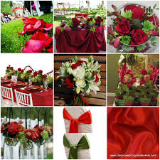 Classic Weddings And Events Red Green Wedding Ideas Gold Christmas Tree Decorating Pinterest