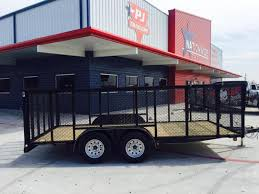 LoneStar 16 X 83 Tandem Axle Landscape Trailer For Sale In Texas