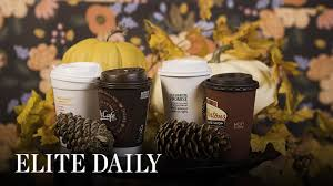 Dunkin Donuts Pumpkin Spice Latte Nutrition by How Pumpkin Spice Lattes Compare To Foods In Calories