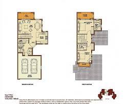 C Floor Plans by Palmera Floor Plans Arabian Ranches Dubai Uae