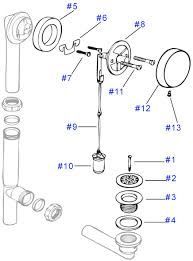 Bathtub Drain Assembly Diagram by Great Deals On Watco Bathtub Drains And Replacement Parts