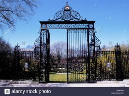 100 Astor Terrace Nyc New York City Central Park The Gate NYC USA Stock
