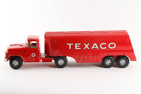 Lot Detail - 1961 Buddy L Pressed Steel Texaco Oil Tanker Truck Toy ... Amazoncom Ertl 9385 1925 Kenworth Stake Truck Toys Games Texaco Cast Metal Red Tanker Truck By Ertl For Sale Antiquescom Vintage Toy Fuel Tractor Trailer 1854430236 Beyond The Infinity 1940 Ford Pickup With Lot Detail Two 2 Trucks Colctible Set Schrader Oil Vintage Buddy L Gas Pressed Steel Antique Tootsietoy 1915440621 Sold Diamond T 522 Livery Rhd Auctions 26 Andys Toybox Store 273350286110 1990 Edition 7 Stake Coin Bank Collectors Series 9 1961 Buddy