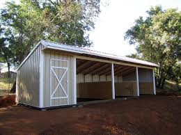 Metal Loafing Shed Kits by Picture Gallery Of Shedrows Loafing Sheds And Run Ins For The