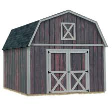12x20 Shed Material List by Best Barns Brandon 12 Ft X 20 Ft Wood Storage Shed Kit With