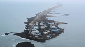 Sinking Islands Global Warming by Climate Change Threatens To Sweep Away Alaskan Village Youtube