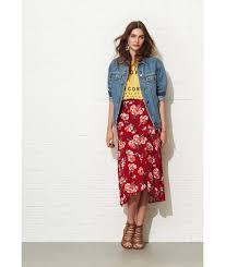 long floral skirt lookbook u2013 modern trending things photo blog