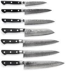 couteau de cuisine professionnel japonais sur gamme tojiro damascus pro sgps