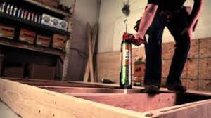 Liquid Floor Leveler Youtube by Subfloor U0026 Deck Construction Adhesive Youtube