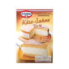 dr oetker kaese sahne torte backmischung cheese