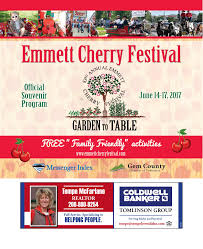 Barnesville Pumpkin Festival Parade by 2017 Emmett Cherry Festival By Pioneer News Group Issuu