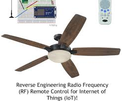 Harbor Breeze Ceiling Fans Remote Frequency by Reverse Engineer Rf Remote Controller For Iot 10 Steps With